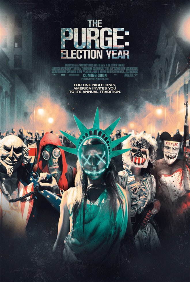 The Purge: Election Year Large Poster