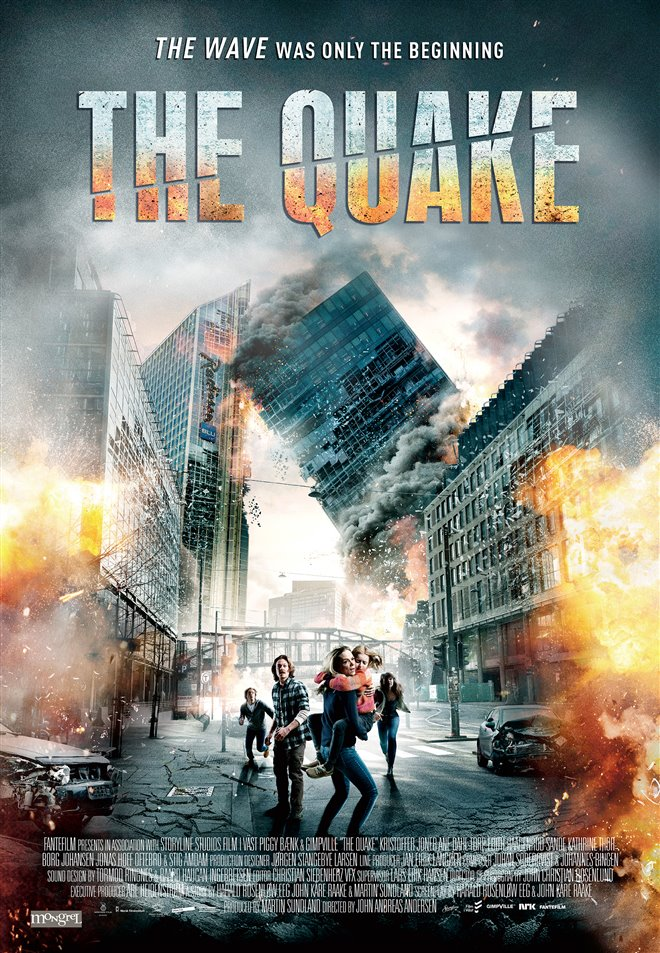 The Quake Large Poster
