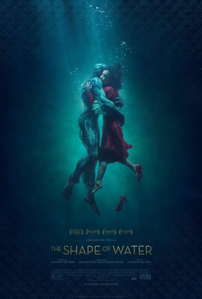The Shape of Water Large Poster