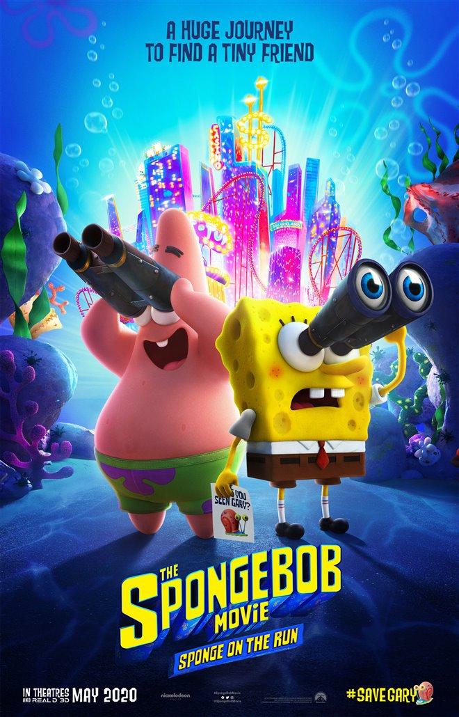 The SpongeBob Movie: Sponge on the Run Large Poster