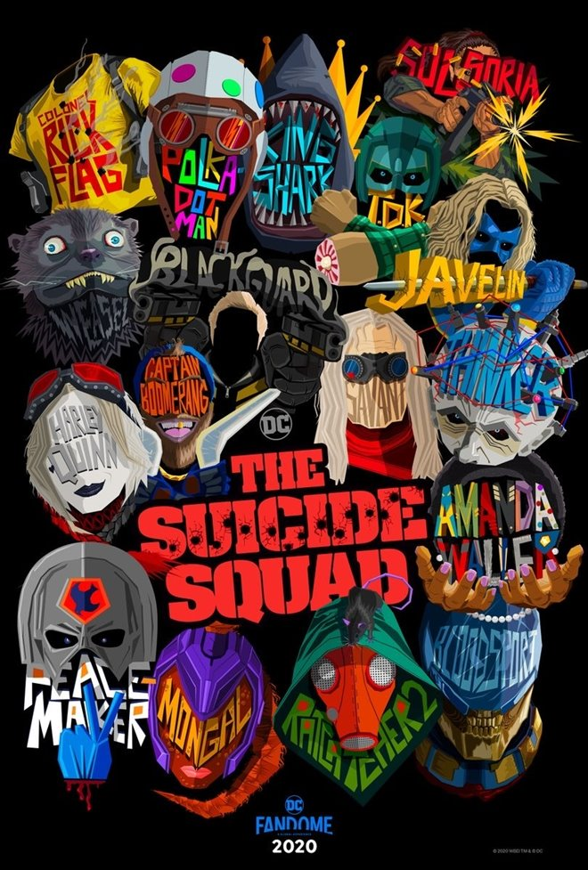 The Suicide Squad Large Poster