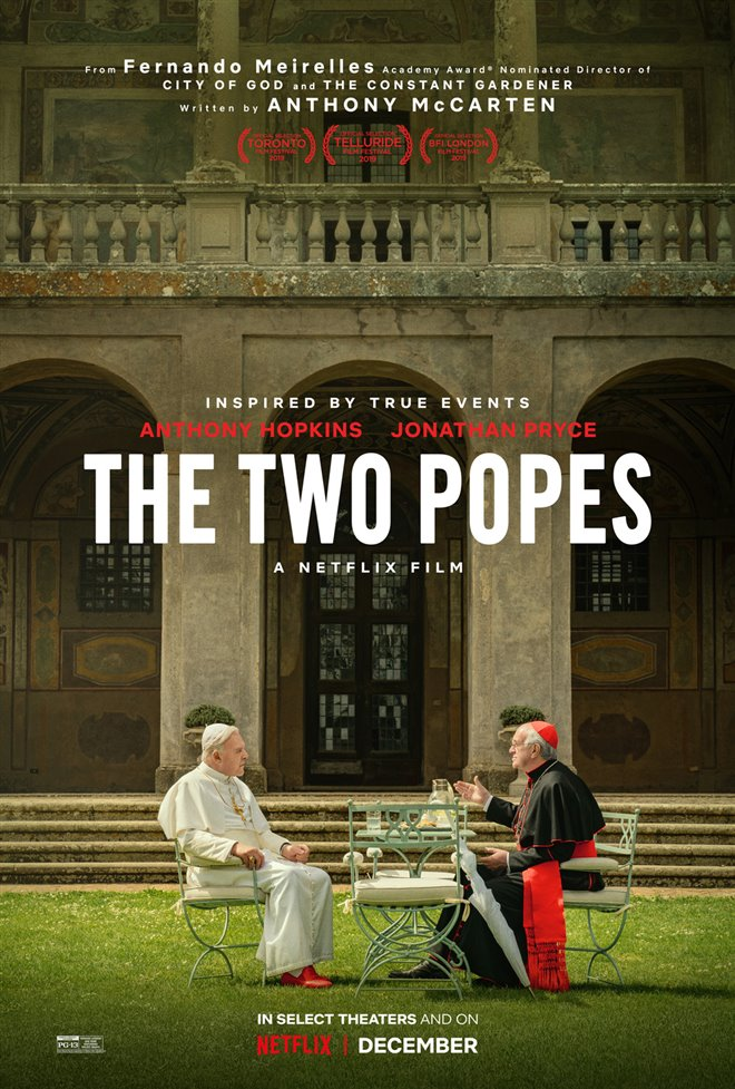The Two Popes Large Poster