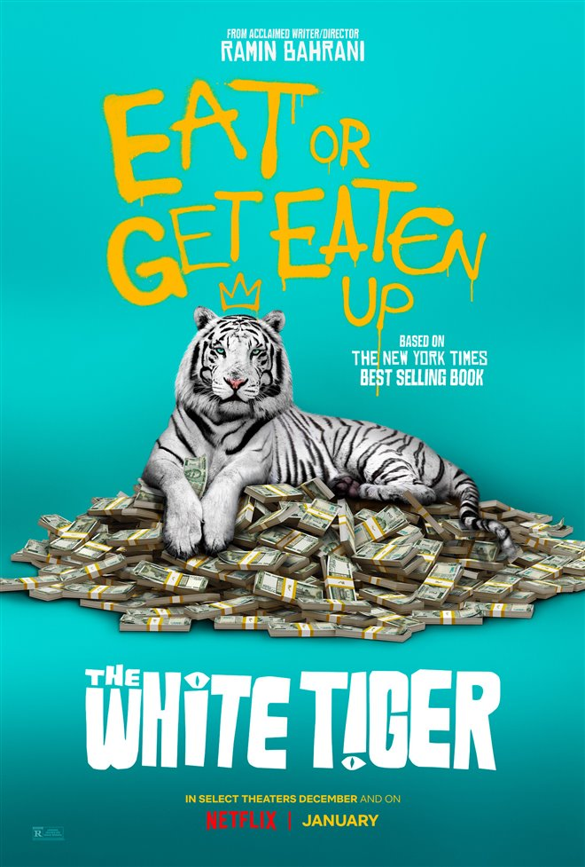 The White Tiger (Netflix) Large Poster