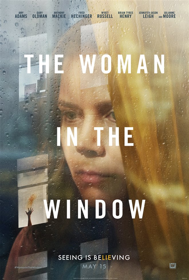 The Woman in the Window Large Poster