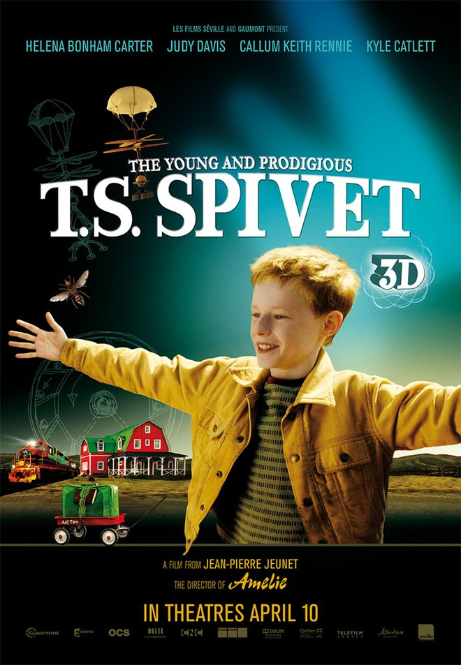 The Young and Prodigious T.S. Spivet Large Poster