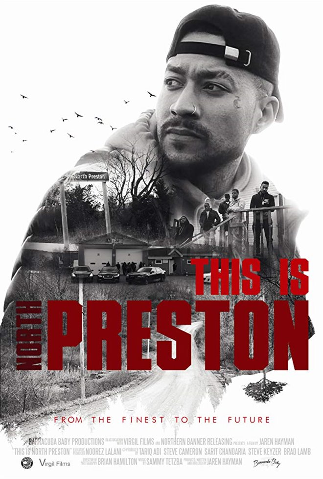 This is North Preston Large Poster