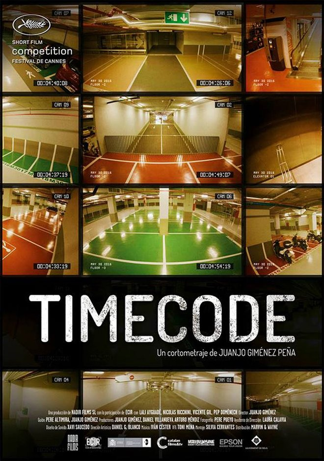 Timecode Large Poster