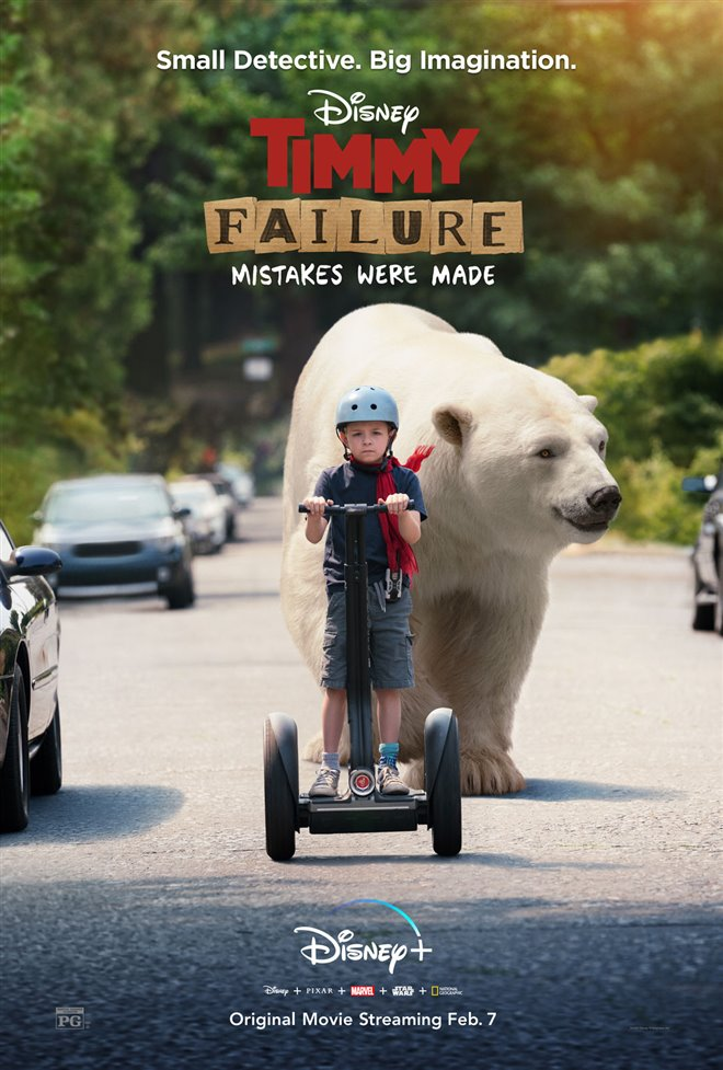 Timmy Failure: Mistakes Were Made (Disney+) Large Poster