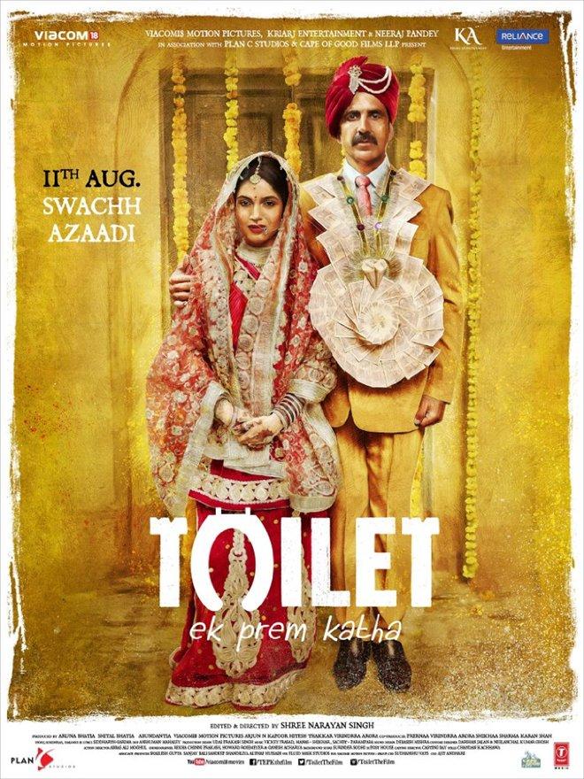 Toilet: Ek Prem Katha Large Poster