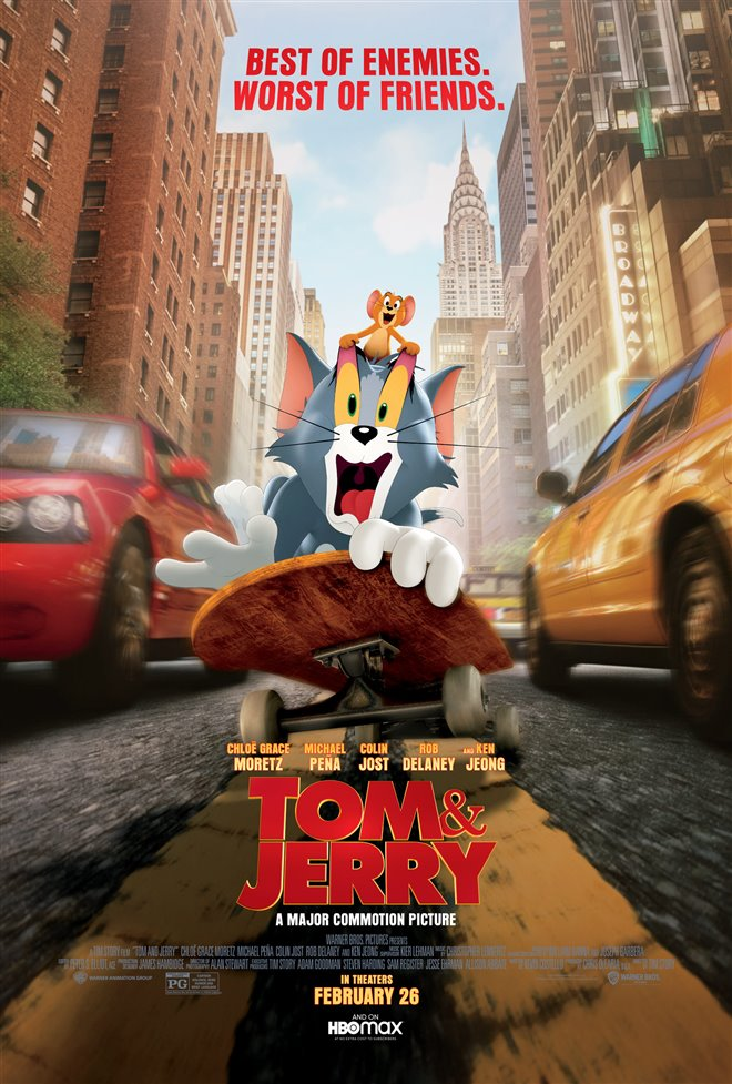 Tom & Jerry Large Poster