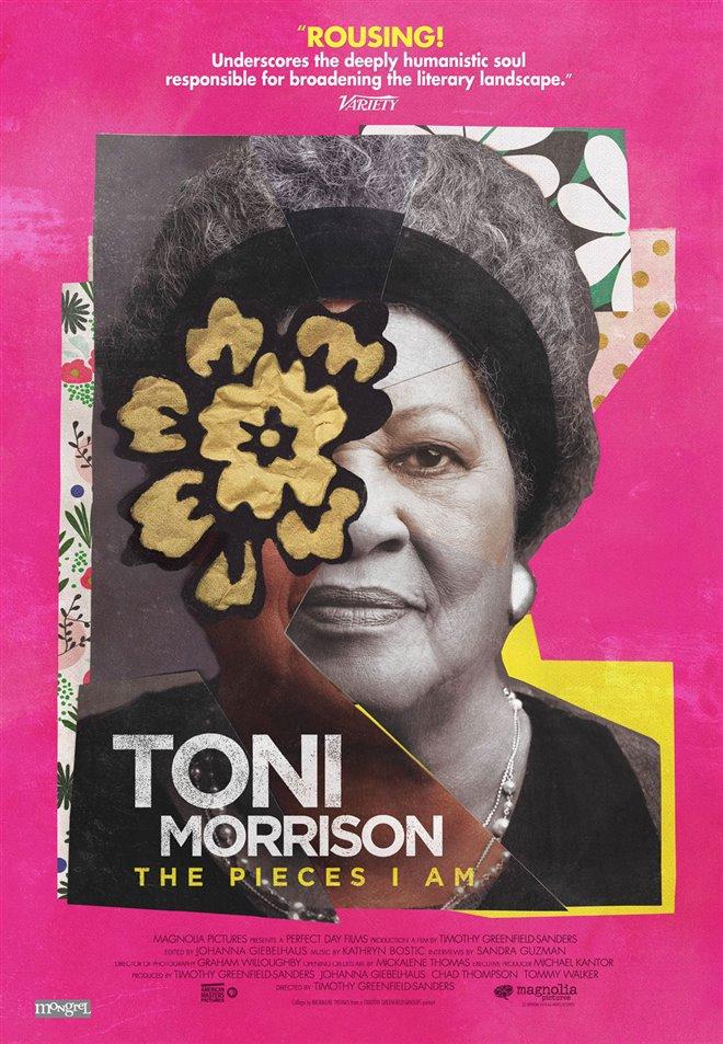 Toni Morrison: The Pieces I Am Large Poster