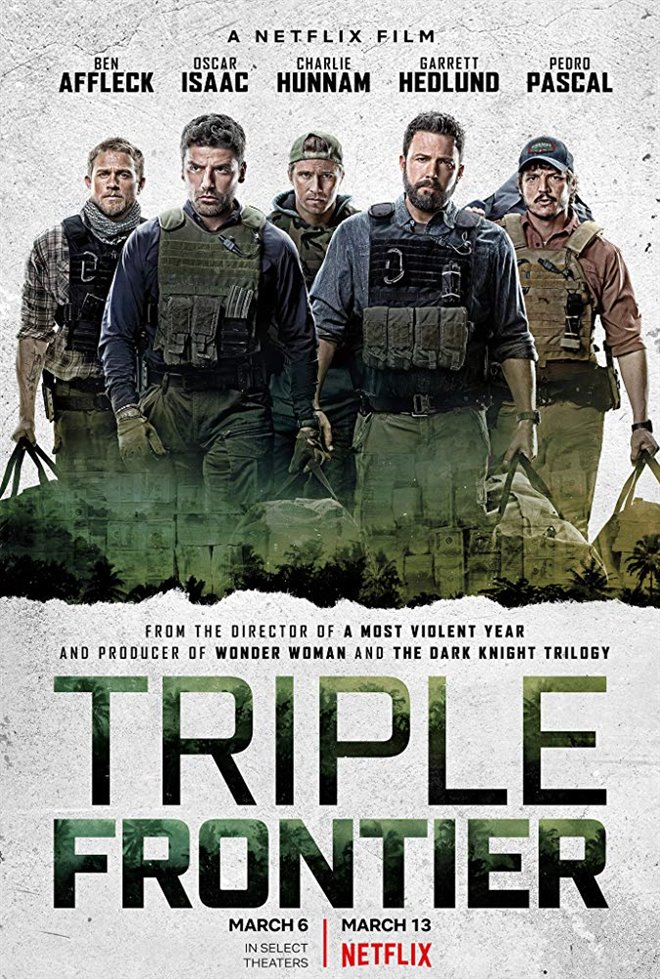 Triple Frontier (Netflix) Large Poster