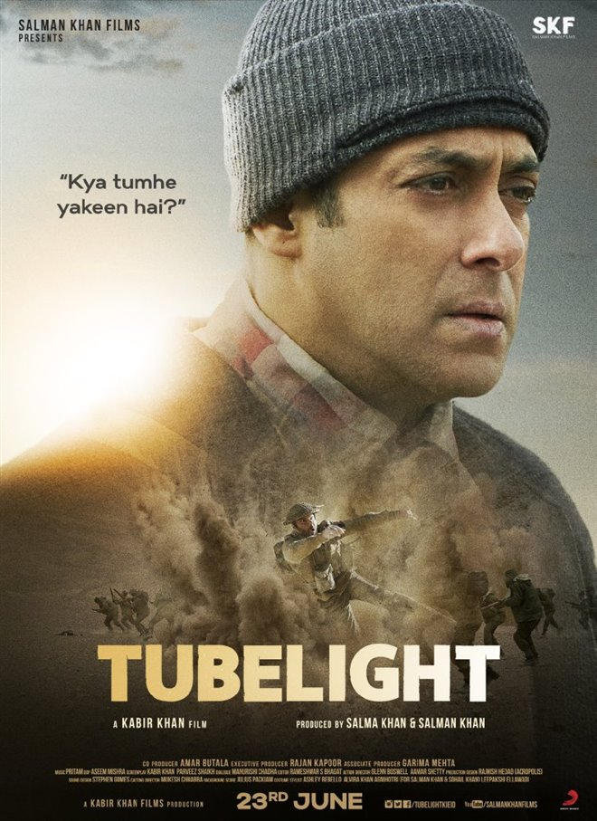 Tubelight Large Poster