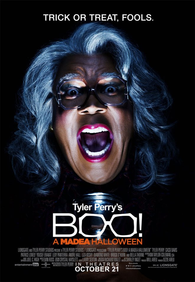 Tyler Perry's Boo! A Madea Halloween Large Poster
