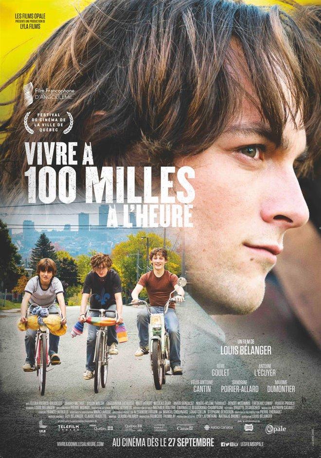 Vivre à 100 milles à l'heure Large Poster