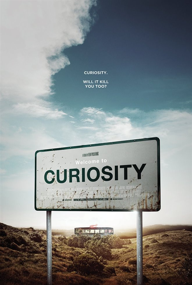 Welcome to Curiosity Large Poster