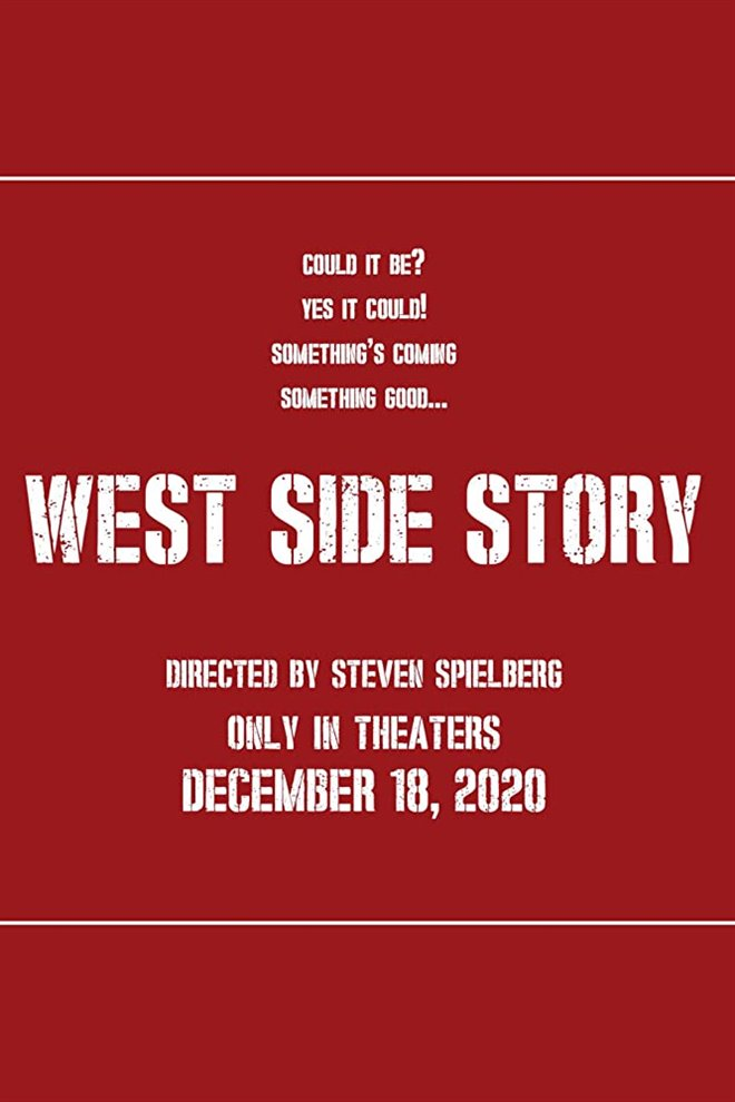 West Side Story Large Poster