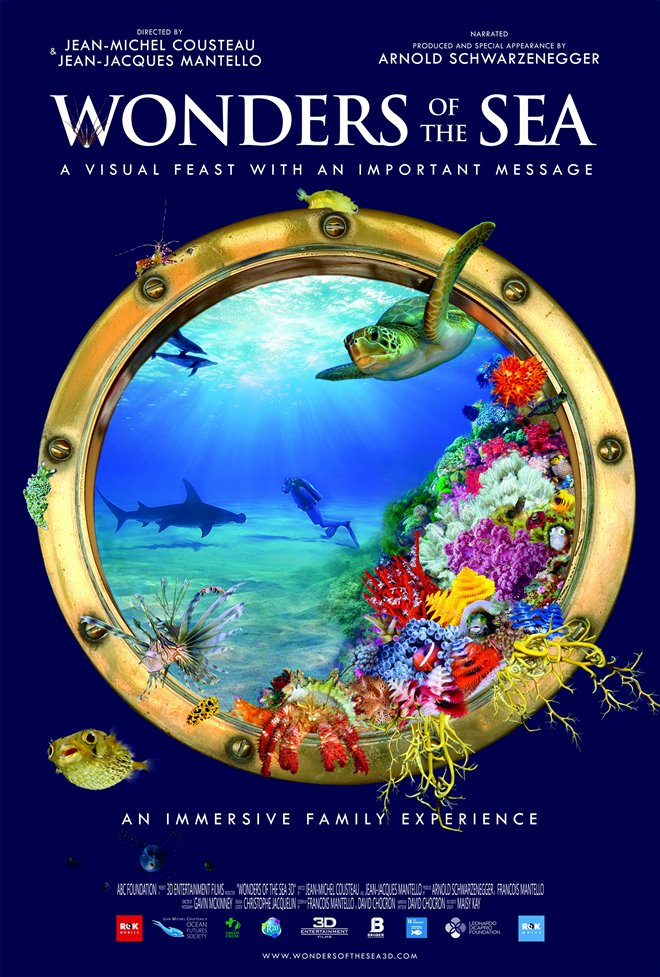 Wonders of the Sea 3D Large Poster