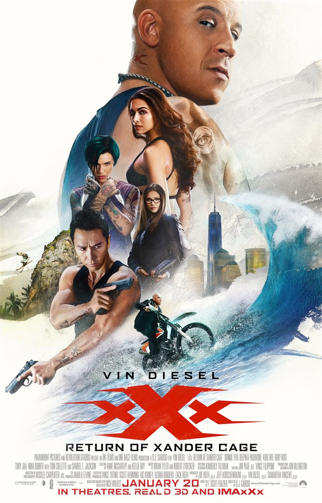xXx: Return of Xander Cage Large Poster