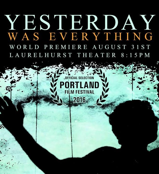 Yesterday Was Everything Large Poster