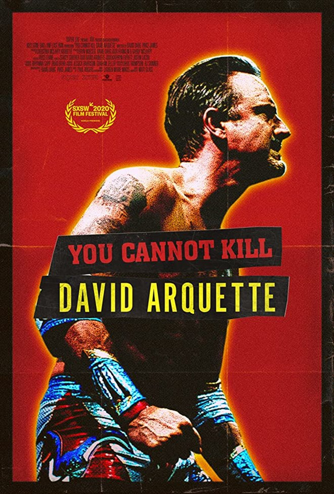 You Cannot Kill David Arquette Large Poster