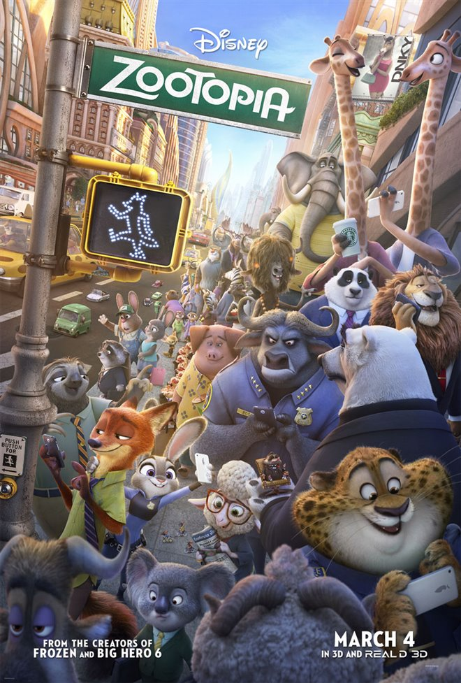 Zootopia Large Poster